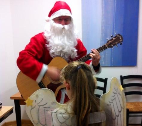 Weihnachtsfeier der Ambulanten Hilfen Erlangen mit der Hypo-Vereinsbank