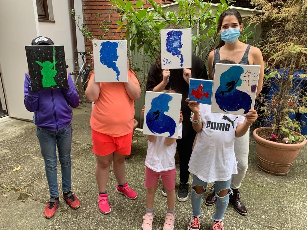 Groß für Klein: Kreative Ferienbetreuung